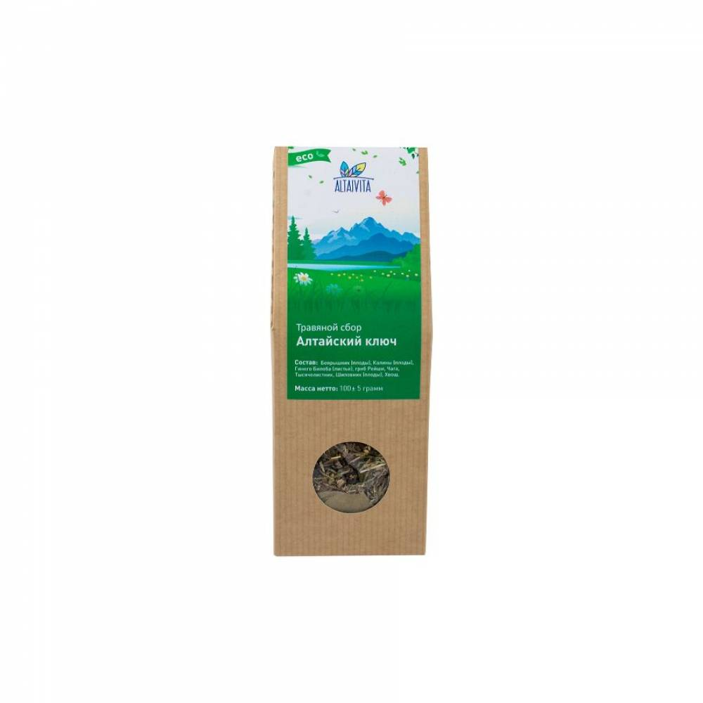 Алтайский ключ Altaivita, травяной сбор, 100 гр
