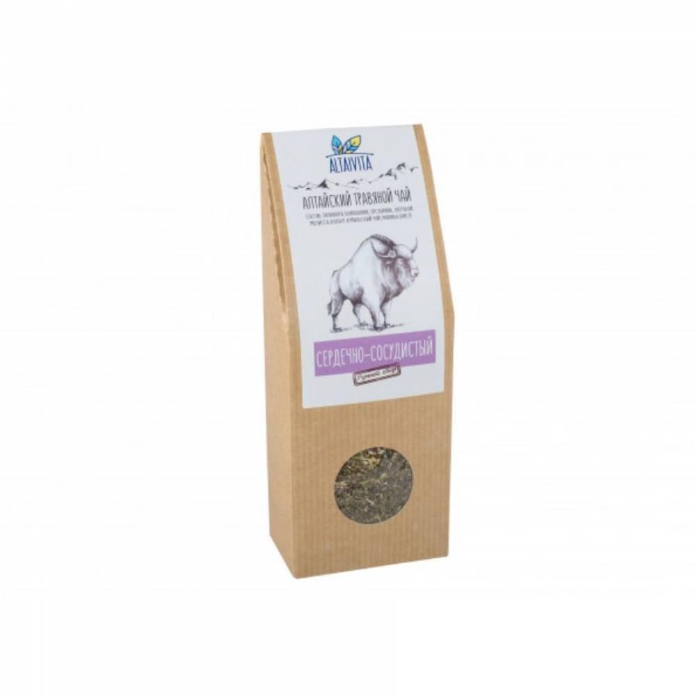 Травяной чай Сердечно-сосудистый Altaivita, алтайский, 70 гр