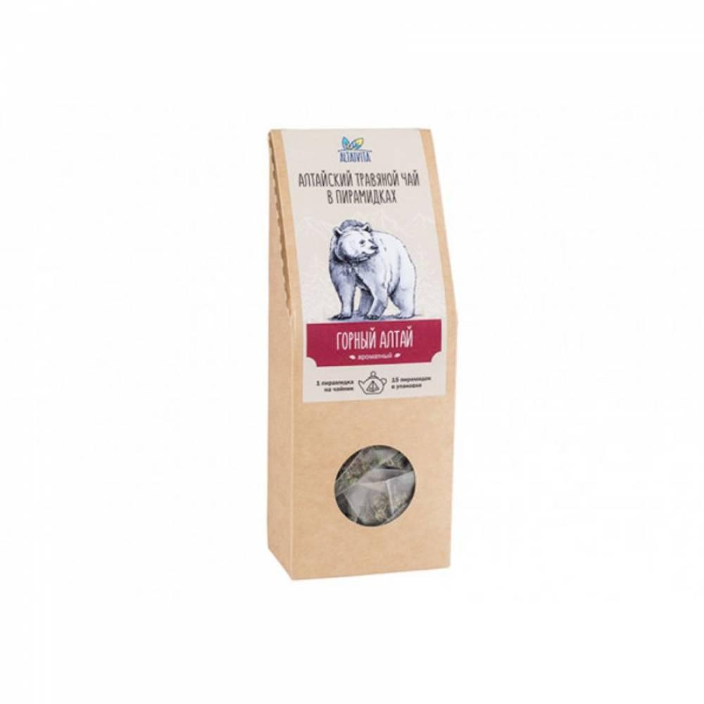 Травяной чай Горный Алтай Altaivita, в пирамидках, 60 гр