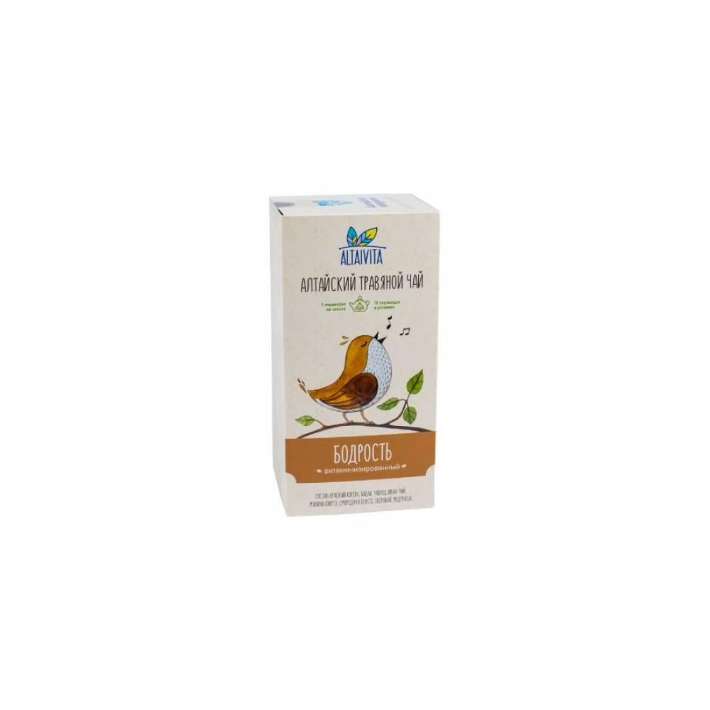 Травяной чай Бодрость Altaivita в пирамидках, 40 гр