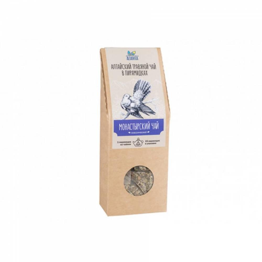 Травяной чай Монастырский Altaivita, в пирамидках, 60 гр