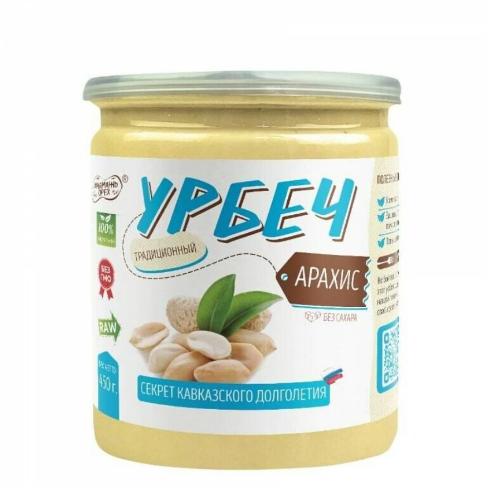 Урбеч из арахиса Намажь Орех, 450 гр