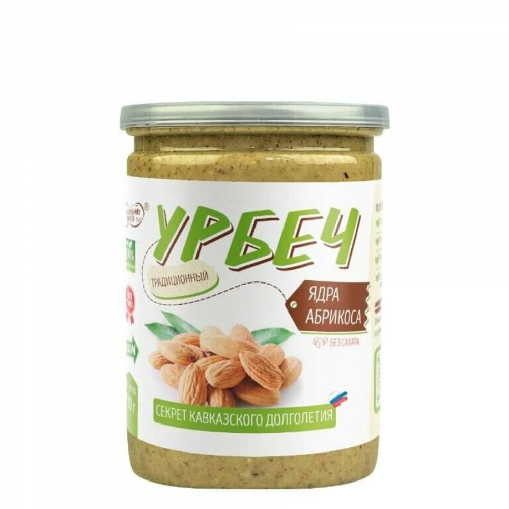 Урбеч из ядер абрикоса Намажь Орех, 230 гр