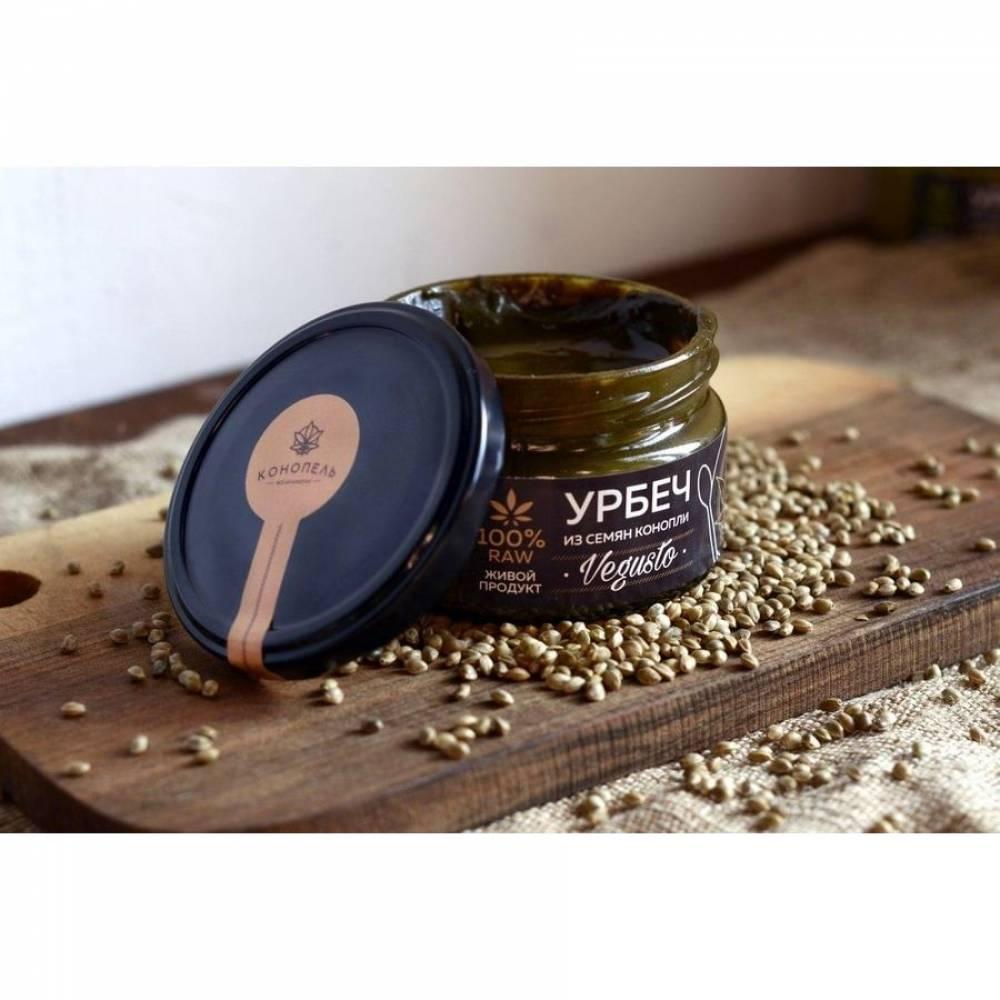 Урбеч из семян конопли Конопель, 200 гр