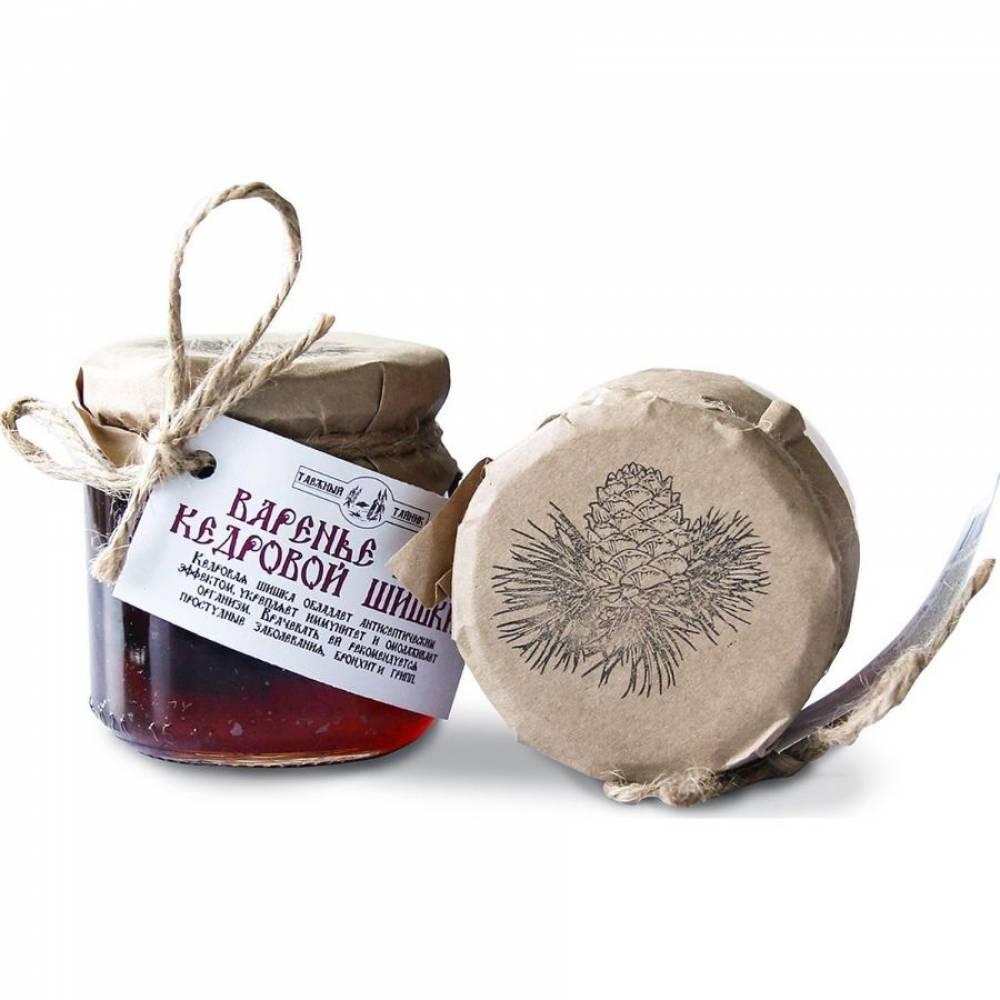 Варенье из шишек кедровых Таежный тайник, 260 гр