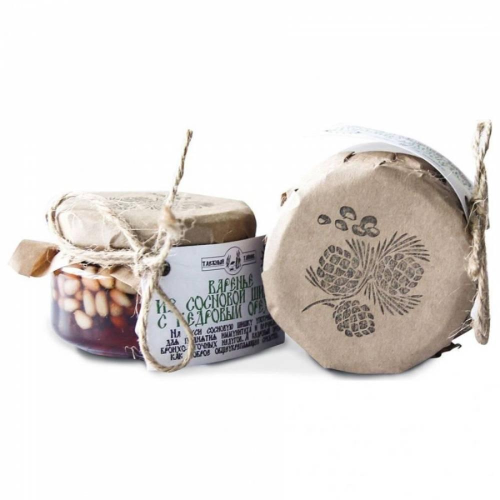 Кедровый орех в сосновом сиропе Таежный тайник, 120 гр