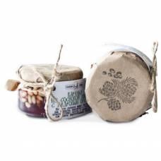 Варенье из сосновых шишек с кедровым орехом Таежный тайник, 120 гр