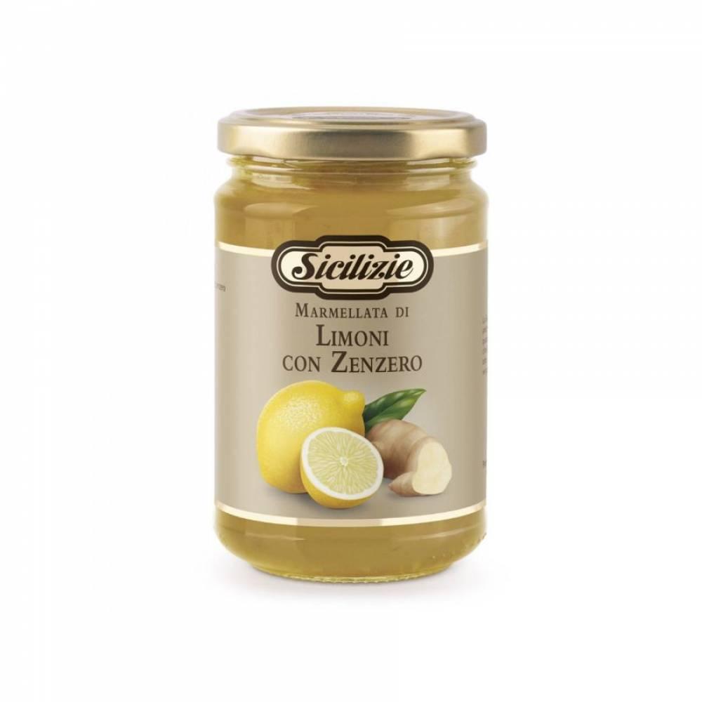 Конфитюр из Сицилийского Лимона и Имбиря, Sicilizie, 360 гр