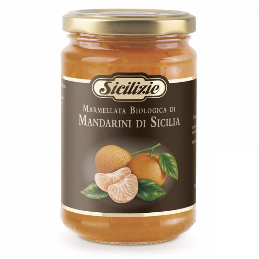 Конфитюр из Сицилийского Мандарина BIO, Sicilizie, 360 гр