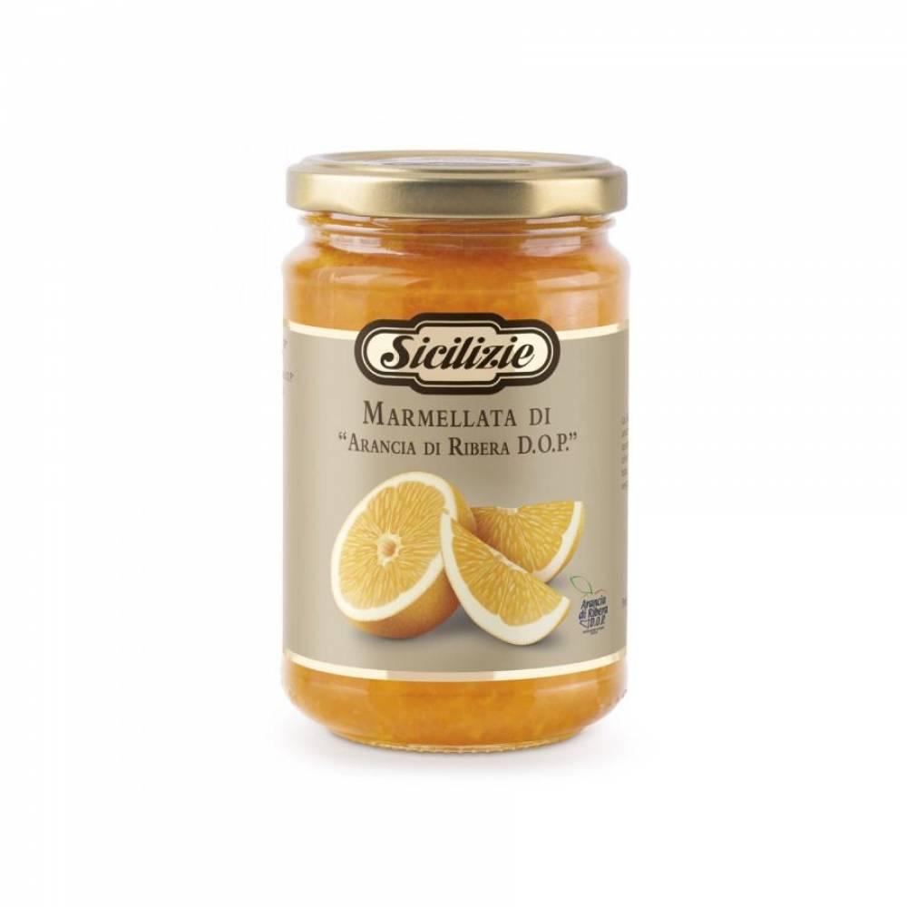 Конфитюр из Сицилийского Апельсина Рибера DOP, Sicilizie, 360 гр