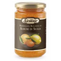 Конфитюр из Апельсина, Лимона и Мандарина BIO, Sicilizie, 360 гр