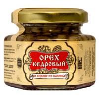 Ядро кедрового ореха в сиропе из калины Сибирский Знахарь, 110 гр