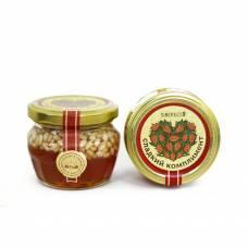 Варенье кедровое с орешками Сладкий комплимент SIBERECO, 95 мл