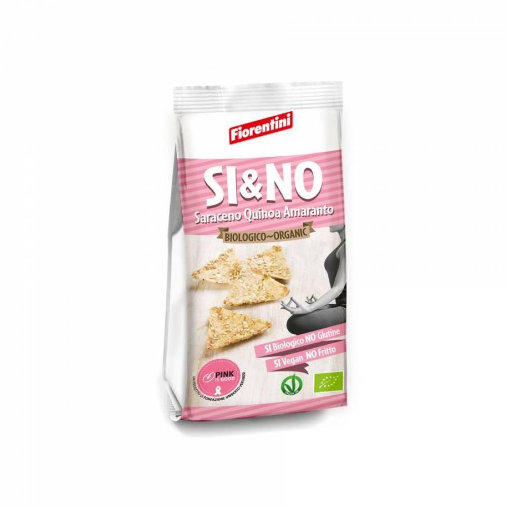 Мини-хлебцы из гречихи без глютена с киноа и амарантом, Fiorentini, 80 гр