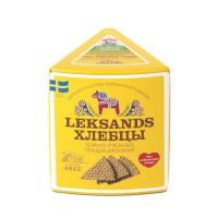 Хлебцы хрустящие Leksands ржаные темнообжаренные Бионова, 230 гр