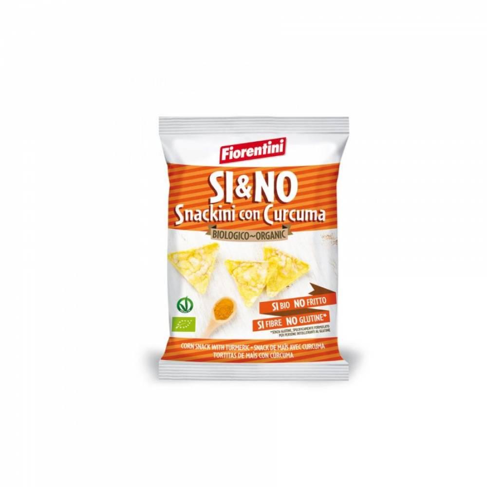 Кукурузные мини-хлебцы без глютена с куркумой, Fiorentini, 20 гр