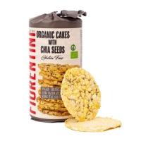Кукурузные хлебцы без глютена с семенами чиа, обогащенные омега-3, Fiorentini, 120 гр