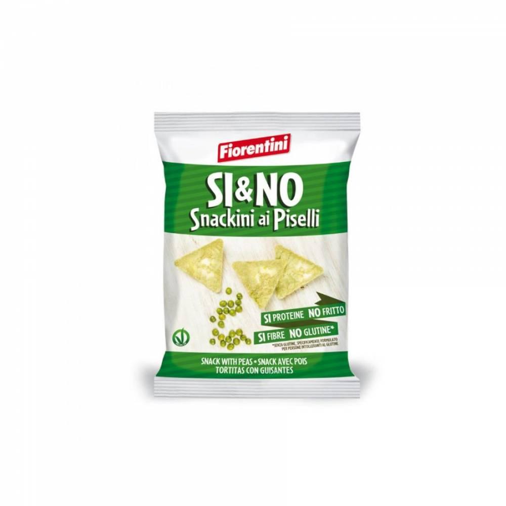 Мини-хлебцы без глютена с зеленым горошком, Fiorentini, 20 гр