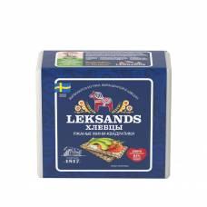 Хлебцы хрустящие Leksands ржаные мини квадратики Бионова, 230 гр