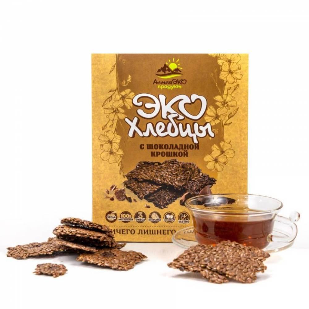 Хлебцы Алтая с Шоколадной крошкой АлтайЭкоПродукт, 90 гр