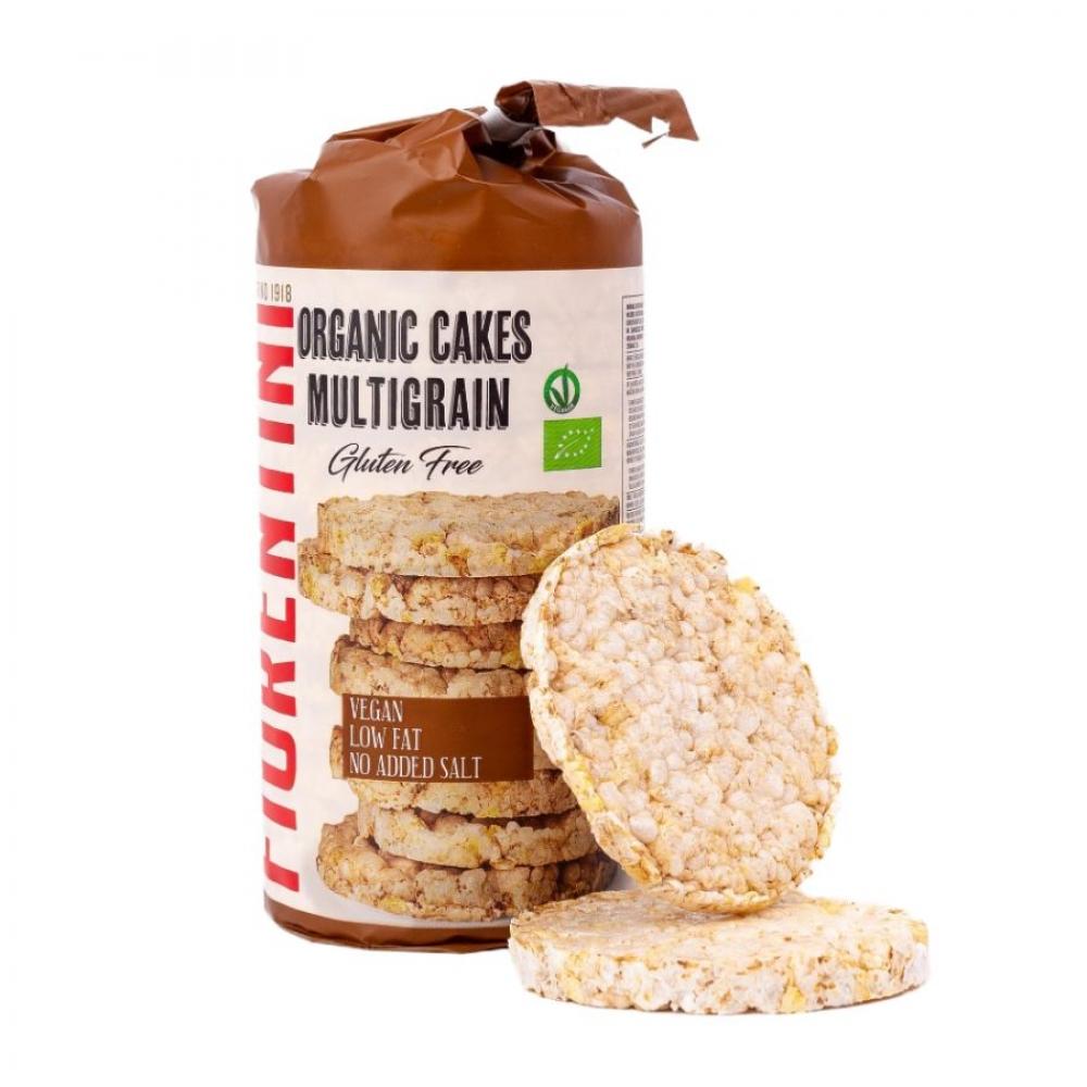 Хлебцы мультизерновые 5 злаков без глютена, Fiorentini, 100 гр