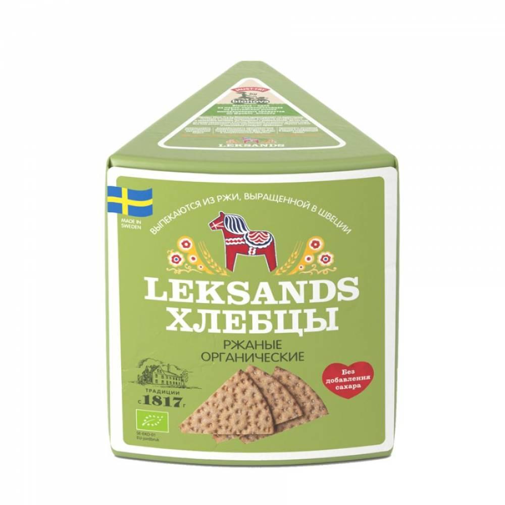 Хлебцы хрустящие Leksands органические Бионова, 230 гр